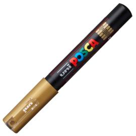 Uni Posca Paint Marker PC-1MC conische punt  - Goud