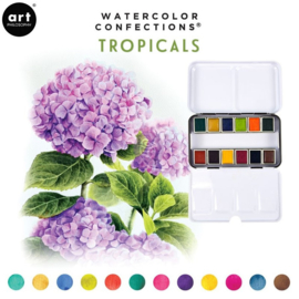 Prima Marketing Confections Aquarelverf Tropicals - set van 12 kleuren