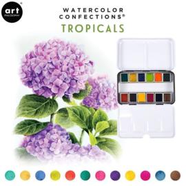 Prima Marketing Confections Aquarelverf Tropicals - set van 12 kleuren