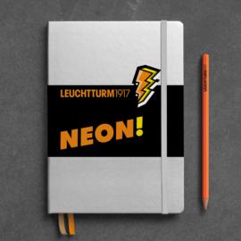 LEUCHTTURM 1917 bulletjournal / Notitieboek A5 - Dotted - Neon Oranje