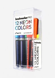 Karin Brushmarker PRO Neon colours - set van 12