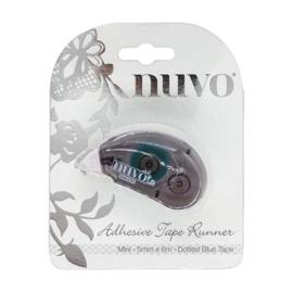 Tonic Studios Nuvo tape runner 5 mm - gestippeld blauw (lijmroller)