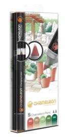 Chameleon Alcohol based Pens - Nature Color Tones - set van 5