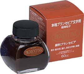 Platinum pigment inktpot 60 ml - Sepia