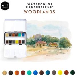 Prima Marketing Confections Aquarelverf Woodlands - set van 12 kleuren