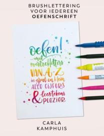 Brushlettering voor iedereen OEFENSCHRIFT 1 - Carla Kamphuis