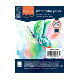 Florence Aquarelpapier texture 300 grams