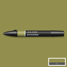Winsor & Newton promarkers - Olive Green
