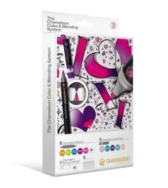 Chameleon Alcohol based Pens - Color & Blending System 18 delig - Set 3