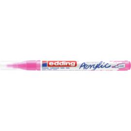 Edding 5300 Acrylmarker fijn 1-2mm - 069 Neon roze