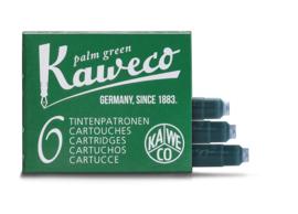 Kaweco inktpatronen - set van 6 - Palm Green