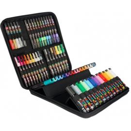 Uni  Posca Paintmarker Koffer 60 stuks