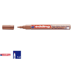 Edding Lakmarker 751 - 1-2 mm - koper