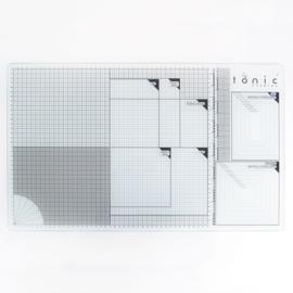 Tonic Studios glazen snijmat 60 x 36,5 cm - A3