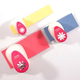 Vaessen Creative -  Figuurpons bloemen - set van 3