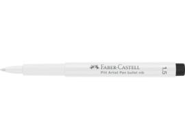 Faber Castell PITT  Wit en Zwart - set van 4