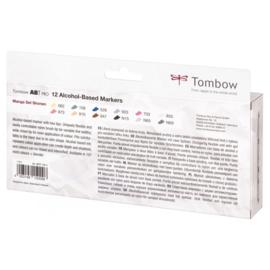 Tombow ABT PRO Alcohol based markers - Manga Set Shonen - set van 12