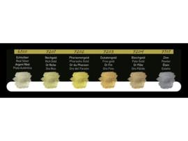 FINETEC Aquarelverf - Pearlesescent Premium Antique Tones Colours palet F7001- 6 kleuren
