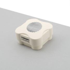 Vaessen Creative - Magnetische pons cirkel met sierrand 38mm