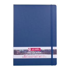 Talens art creation Brush / Schetsboek 21 x 29,7 cm - 80 vellen - Marine Blauw