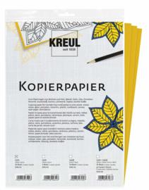 Kreul Grafietpapier overtrekpapier  A4 - 10 vellen