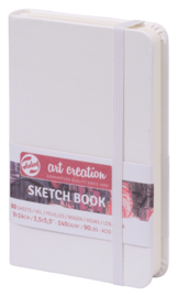 Talens art creation Brush / Schetsboek 9 x 14 cm - 80 vellen - Wit