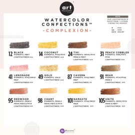 Prima Marketing Confections Aquarelverf Complexion - set van 12 kleuren