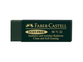 Faber Castell gum dust free - Groen