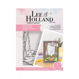 Crafter's Companion Lee Holland Clearstamp - Woodland Trail