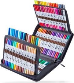 PRE-ORDER: Ohuhu Dual Tip Brush markers - set van 120