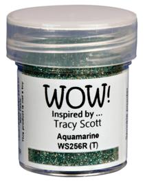 WOW embossing Glitter - Aquamarine WS256R
