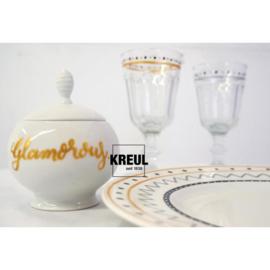 Kreul glas & porseleinstiften Glamour - set van 4