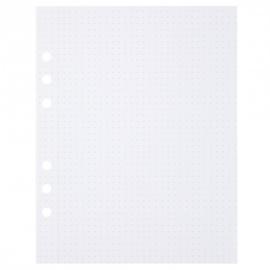 MyArtBook papier A5 - 50 vellen - 150 grams - Dotted - Bullet journal wit papier