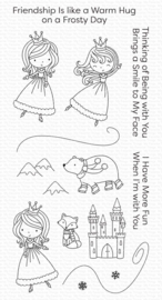 My Favorite Things clear stamps - set van 15 - Ice Princess and Friends