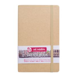 Talens art creation Brush / Schetsboek 13 x 21 cm - 80 vellen - Kraft