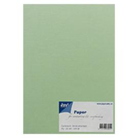 Joy Crafts Kraft papier A5 - 20 stuks - 200 gram - Licht groen