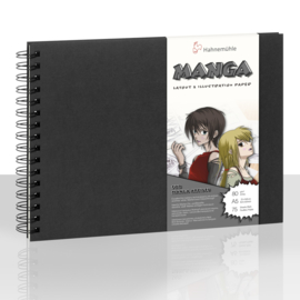 Hahnemühle Manga Layout & Illustration book ringband - 75 pagina's - Alcohol marker papier - A5