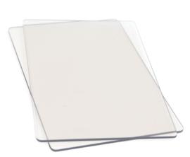Sizzix Accessoire snijplaten Standaard - set van 2
