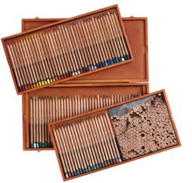 Derwent Lightfast kleurpotloden in houten kist- set van 100