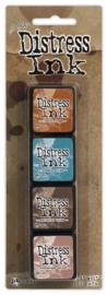 Tim Holtz distress mini ink kit 6