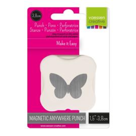 Vaessen Creative - Magnetische pons vlinder 38mm