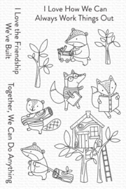 My Favorite Things clear stamps - set van 11 - Let's Work Together