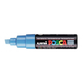 Uni Posca Paint Marker PC-8K - Lichtblauw