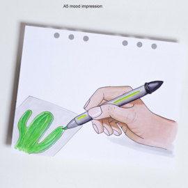 MyArtBook papier A4 - 20 vellen - 160 grams - Ultra Smooth alcohol marker wit papier
