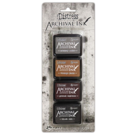 Tim Holtz Distress Archival Mini Ink kit 3