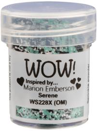 WOW embossing Glitter - Serene WS228X