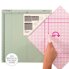 Vaessen Creative - Score Easy Rilbord CM Mint - 30,5 x 30,5 cm
