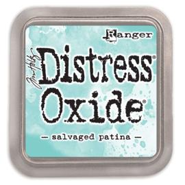 Tim Holtz Distress Oxide Inkt Pads groot - Salvaged patina
