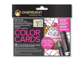 Chameleon Color Cards - Sweet Treats 10 x 15 cm - set van 16