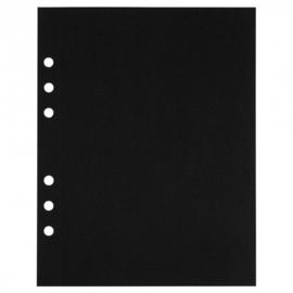 MyArtBook papier A5 - 20 vellen - 120 grams - Zwart tekenpapier